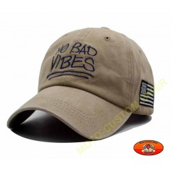 Casquette vibes beige