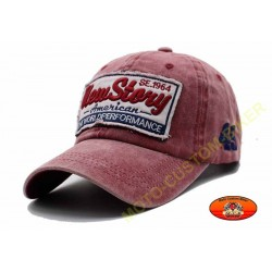 Casquette newstory rouge