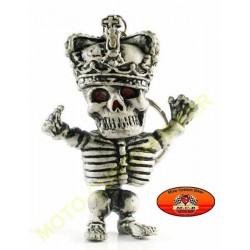Porte cles king of the skull
