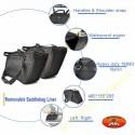 Bagage moto, interieurs de sacoches pour valises en rigide ou souple