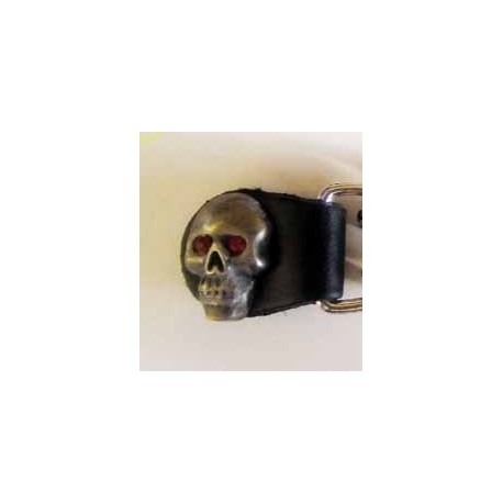 Extension pour gilet skull yeux rouge