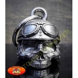 Clochette moto helmet skull
