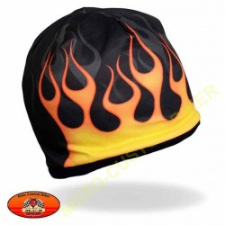 Bonnet biker flaming