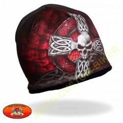 Bonnet biker croix celtique