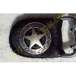Extension pour gilet étoile shérif argent