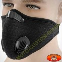 Cache nez anti poussières noir