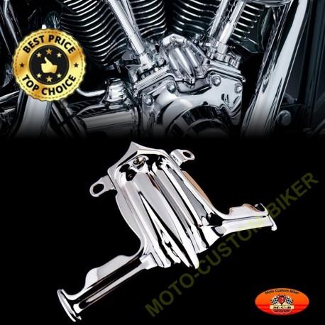 Couvre poussoir, habillage moteur Harley Twin Cam,  Road King, Street Glide Dyna etc. de 2000 à 2016