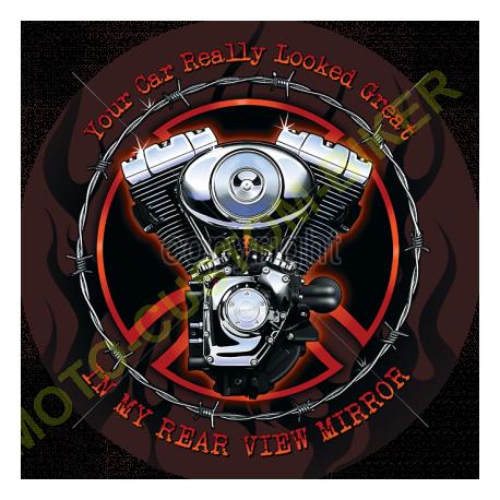 T shirt biker hot rod pig