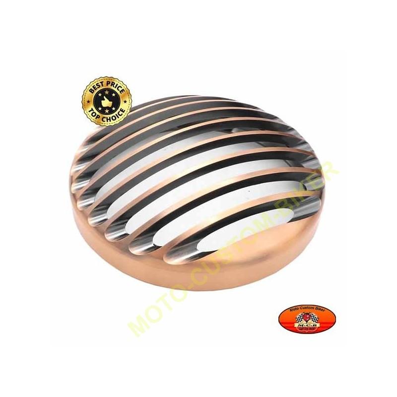 grille de phare bronze pour harley sportster et dyna en. Black Bedroom Furniture Sets. Home Design Ideas