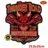 Patch, écusson thunder road