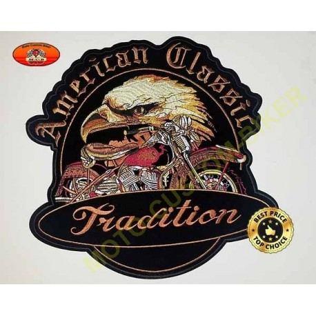 Patch, écusson american tradition