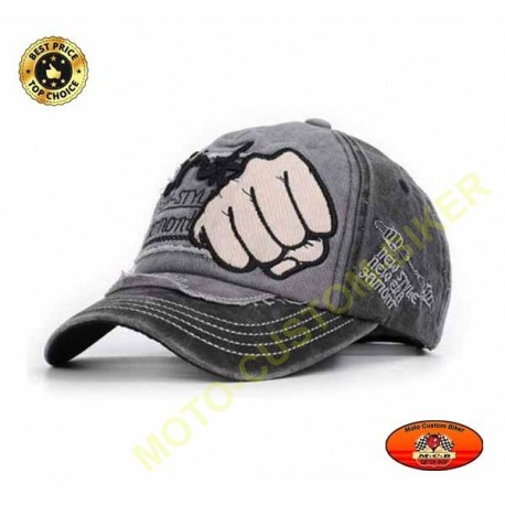 Casquette new style poing