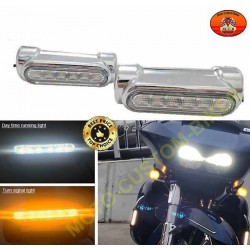 Leds pour pare cylindres harley et victory