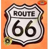 Patch, écusson route 66 grand model