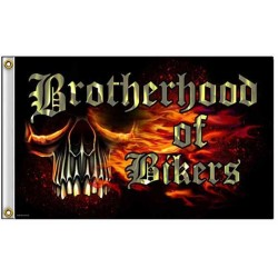 Drapeaux biker brotherhood