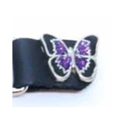 Extension pour gilet purple butterfly